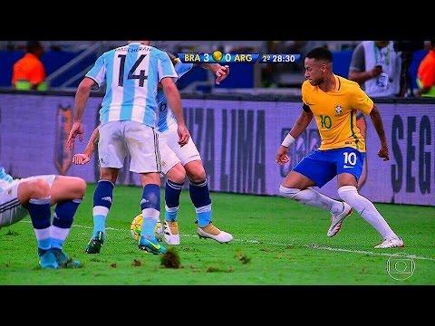Brasil vs Argentina HD 3x0 Melhores Momentos 10/11/2016 SHOW DO BRASIL