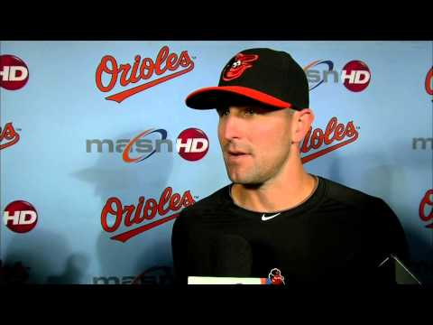 Darren O'Day comments on being selected to his first All-Star Game