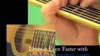Classical Gas Guitar Lesson Part Six - www.6-string-videos.com