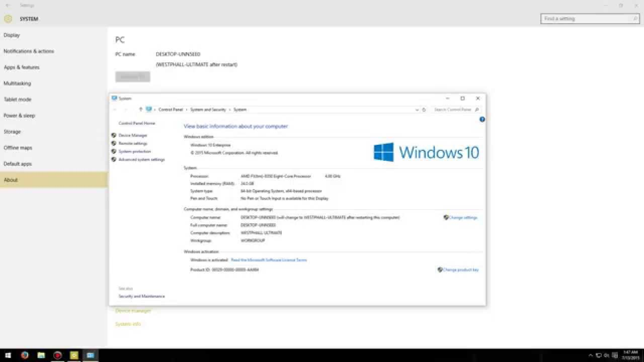 Windows 10 enterprise evaluation to full version | I