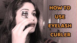 HOW TO USE AN EYELASH CURLER || NO MASCARA NEEDED