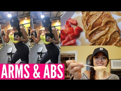 ARM & ABS WORKOUT, IIFYM FULL DAY OF EATING & REBRANDING?