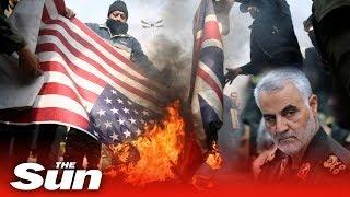Qasem Soleimani dead - Flags burned as world responds to US killing of Iran general