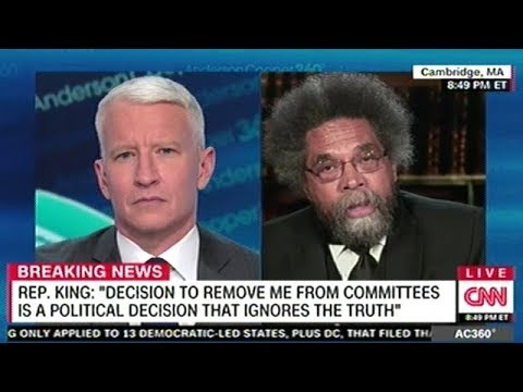 "Cornel West ""I'm Glad The Republican Party Has Finally Said A White Supremacist Should Be Punished!"""