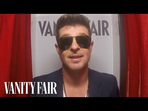"""Robin Thicke on """"Blurred Lines"""" Album - @VFHollywood - YouTube"""