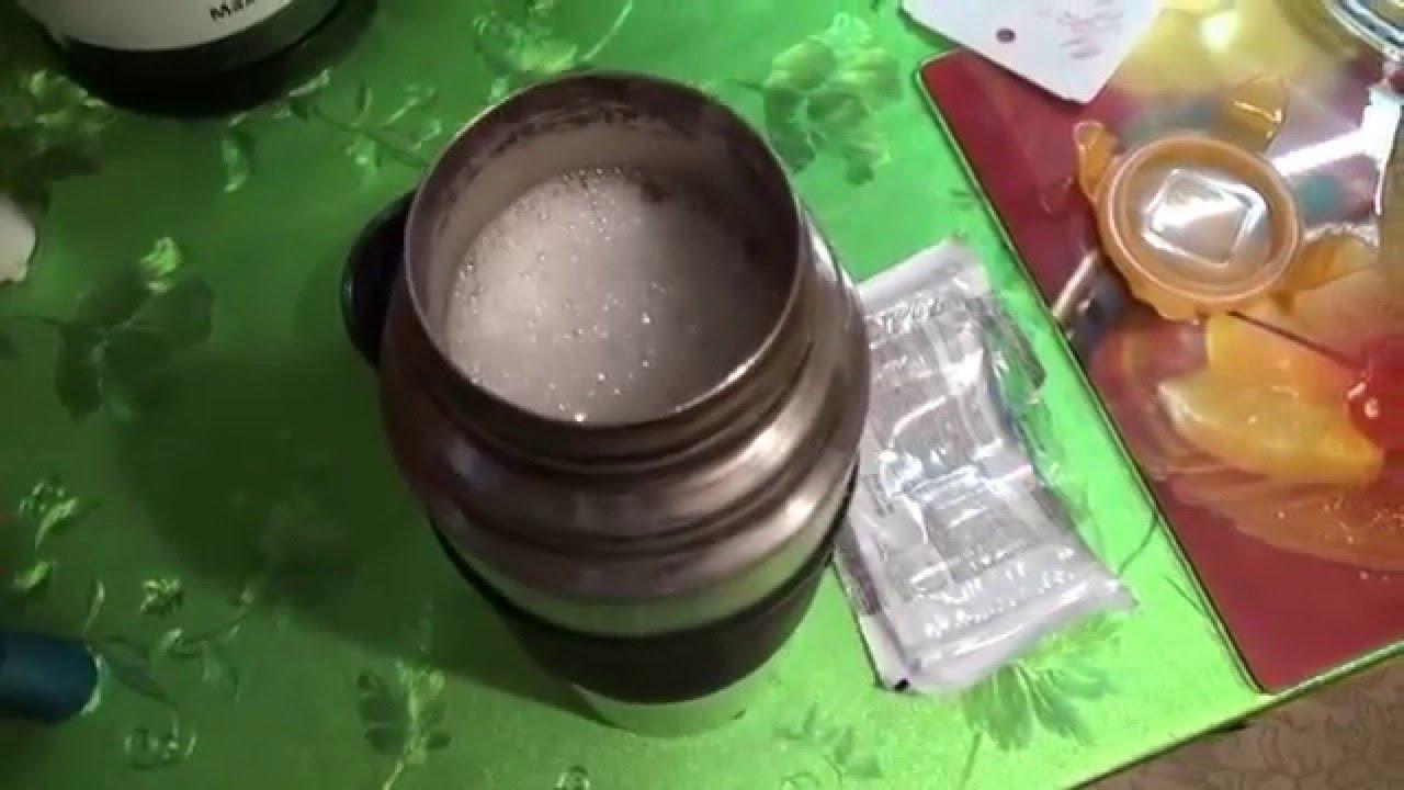 Как очистить термос из нержавеики от чайного налета и запаха
