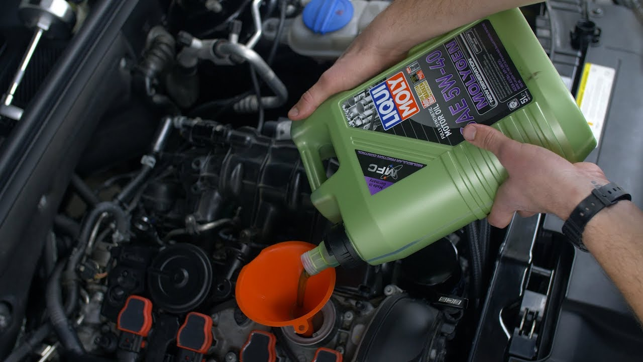 How To Change The Oil In Your Car >> Audi A4 Oil Change DIY (B8 Chassis // 2009-2016) - YouTube