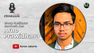 Diskusik Bersama Group Facilitator Innovesia Jam Arno Prawidhana