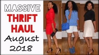Massive THRIFT HAUL | Look Book August 2018