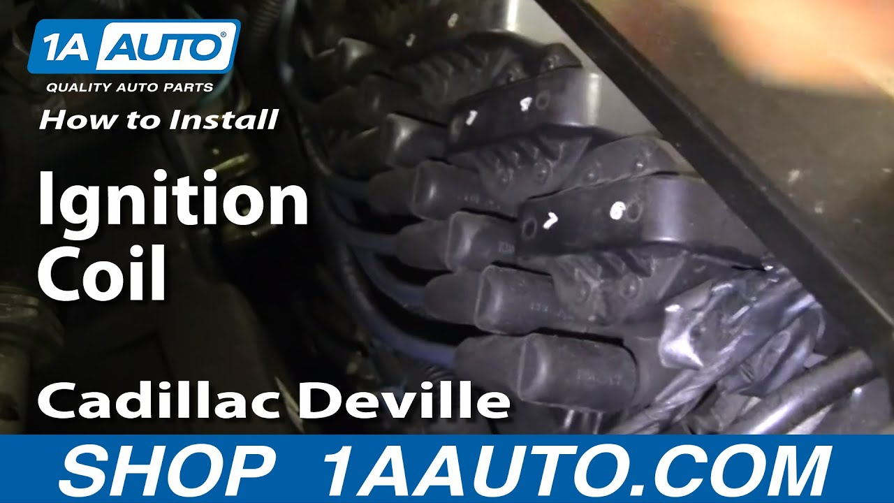 medium resolution of how to install replace ignition coil 96 99 cadillac deville northstar 4 6l v8 1aauto com youtube