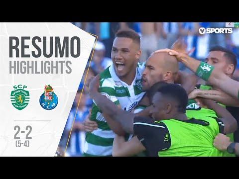 Highlights | Resumo: Sporting 2-2 FC Porto (5-4 g.p.) (Taça de Portugal 18/19 Final)