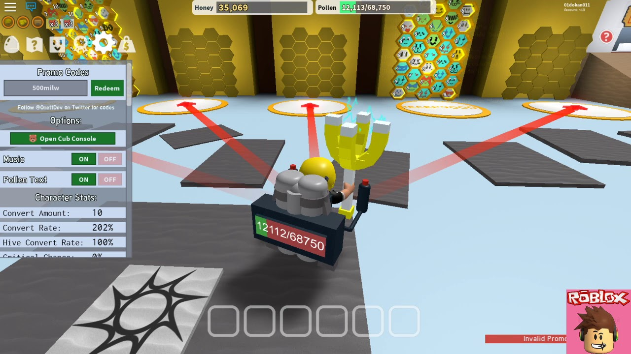 Auto Clicker For Roblox Mobile Hack Roblox Bee Swarm Bee Simulator Codes