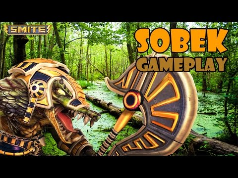 "SMITE Sobek Gameplay - ""Ahoy!"""