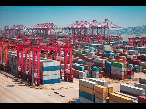Yangshan Deep Ocean Port, Shanghai - Megastructures: China's Ultimate Port - Engineering Documentary