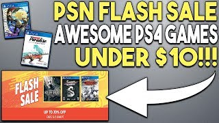 10 Cheap and Great PS4 Games Under $10 Now! (New PSN Flash Sale)