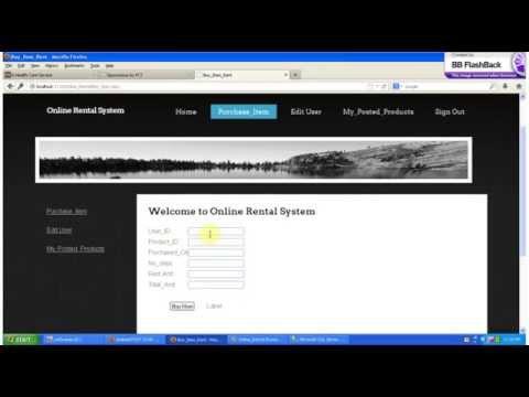 Online Rental System