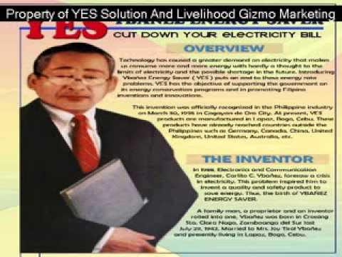 Ybañez Energy Saver (The Inventor)