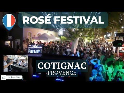 Cotignac Rosé Festival 2017