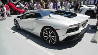 Balloon White Lamborghini Aventador S