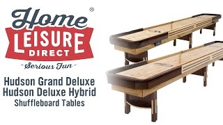 Hudson Grand Deluxe and Deluxe Hybrid Shuffleboards Mp3