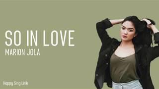 So In Love - Marion Jola (Lirik) MP3