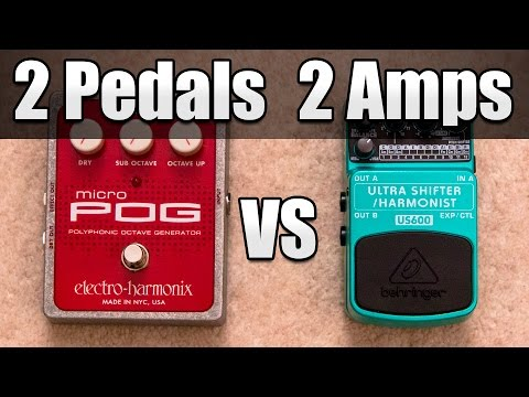 how to get effects on your amp without pedals