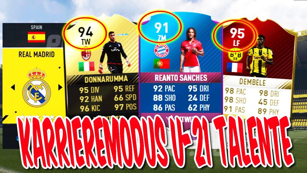 Fifa 17 Top Talente