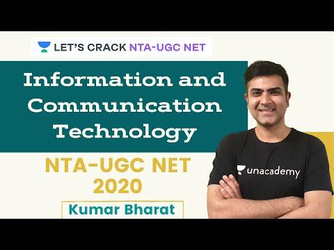 Information and Communication Technology   NTA-UGC NET 2020   Kumar Bharat