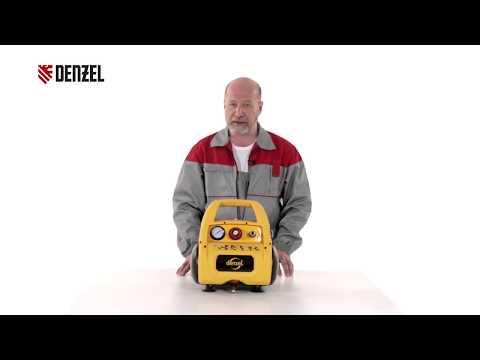 Поршневой компрессор Denzel PC 1/6-180