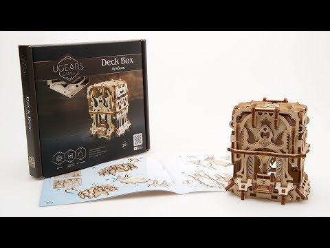 Ugears Deck Box: Assembly Video