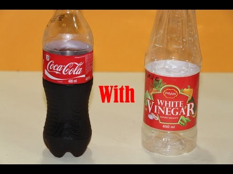 Science Experiments - Coca Cola and Vinegar