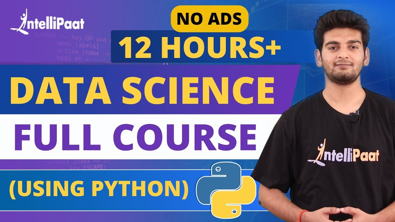 Data Science Training  | Data Science for Beginners | Intellipaat - YouTube