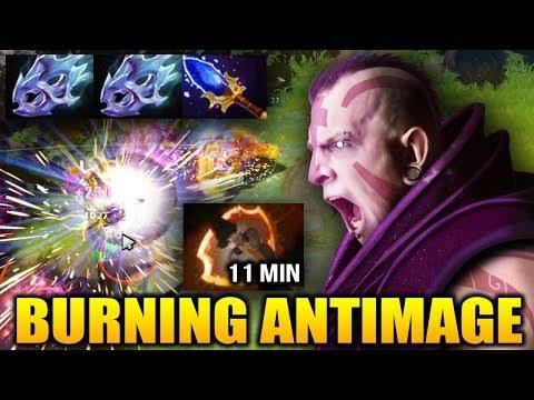 BurNIng [Anti Mage] AM-GOD RETURN CAN'T STOP HIM Dota 2 thumbnail