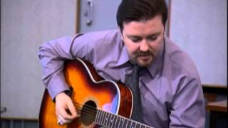 David Brent on Guitar - Free Love Freeway - The Office - BBC