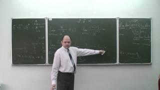 Математический анализ 1. Лекция 10b. Односторонние пределы