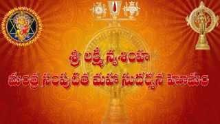 Sri Lakshmi Narasimha Mantra Samputita Maha Sudarshana Homam Part-1