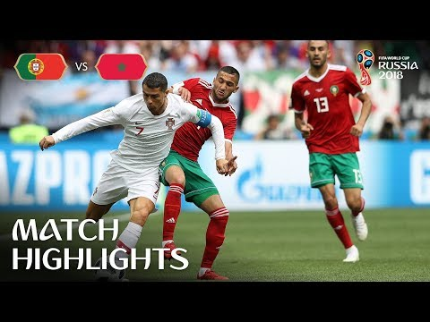 One Magic Ronaldo Moment Is Al portugal vs morocco