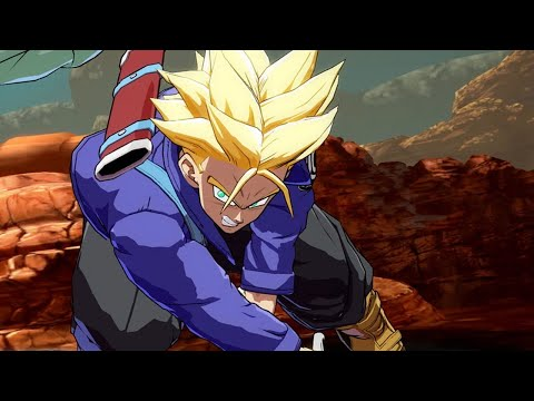 Download Youtube: Dragon Ball FighterZ Easter Egg - Trunks Cuts Frieza to Bits