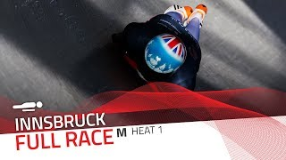 Innsbruck | BMW IBSF World Cup 2019/2020 - Men's Skeleton Heat 1 | IBSF Official