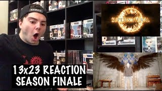 SUPERNATURAL - 13x23 'LET THE GOOD TIMES ROLL' REACTION