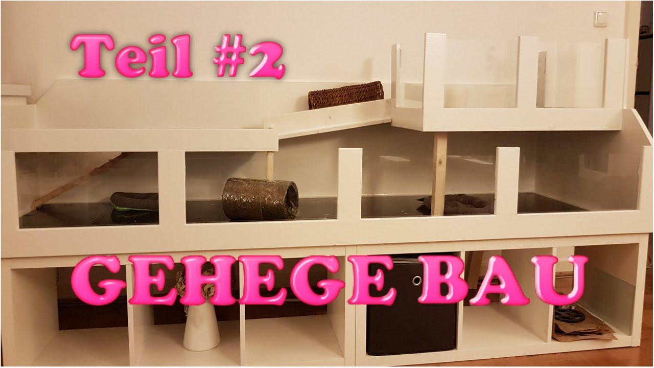 meerschweinchen gehege selber bauen 2 youtube. Black Bedroom Furniture Sets. Home Design Ideas