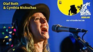 Der virtuelle Hut Live | Olaf Roth & Cynthia Nickschas