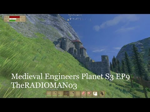 "Medieval Engineers Planet S3 EP9 ""Mine Construction"""