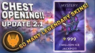 Vainglory - Epic Chest Opening!! So Many Legendary Skins!!