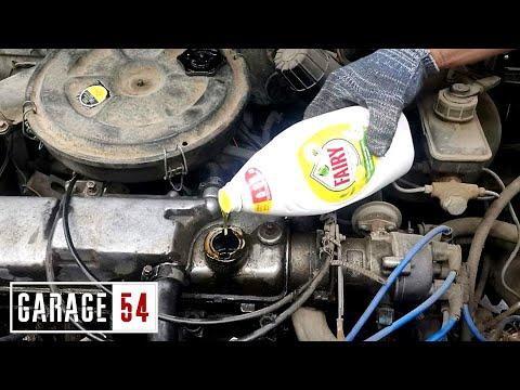 Сможет ли FAIRY отмыть двигатель?