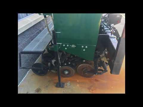 Marliss 7 Grain Drill YouTube