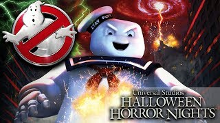 Halloween Horror Nights Announces 'Ghostbusters' Maze Is Coming!