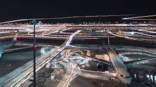 Haneda Airport Tilt Shift and Time Lapse