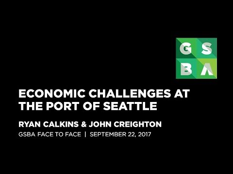 Port of Seattle Candidates - Port as an Economic Engine