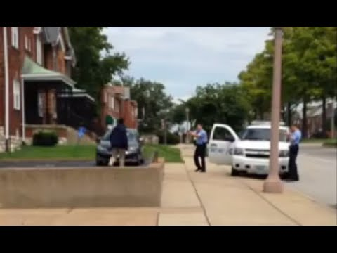GRAPHIC: St Louis police officer shoots Kajieme Powell